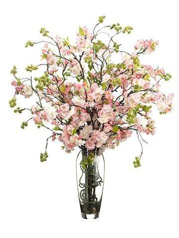 Add a pop of pink with this beautiful Cherry Blossom arrangement.