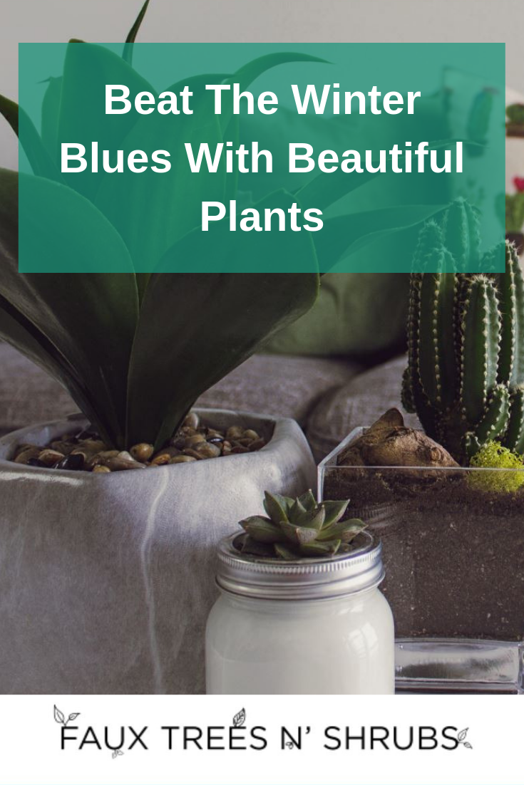 Prepare For The Winter Blahs With Spring-Colored Artificial Plants And Flowers