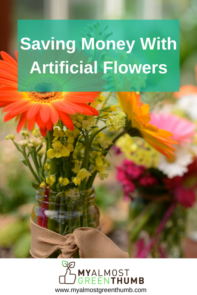 Saving Money Using Artificial Plants and Flowers