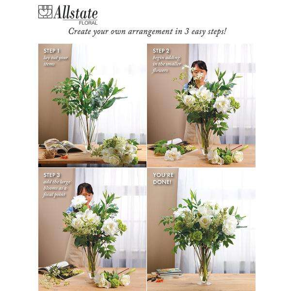 """Need to make two 16""""H floral arrangements not just one? Take a look at these that come as a pair"""