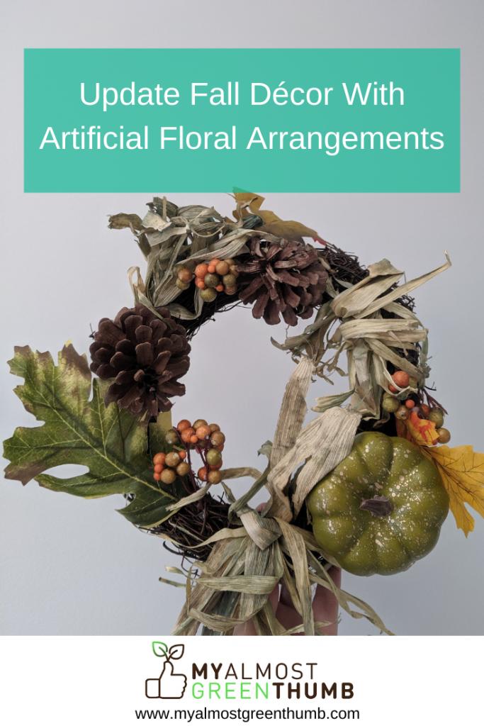 Update Fall Décor With Artificial Floral Arrangements