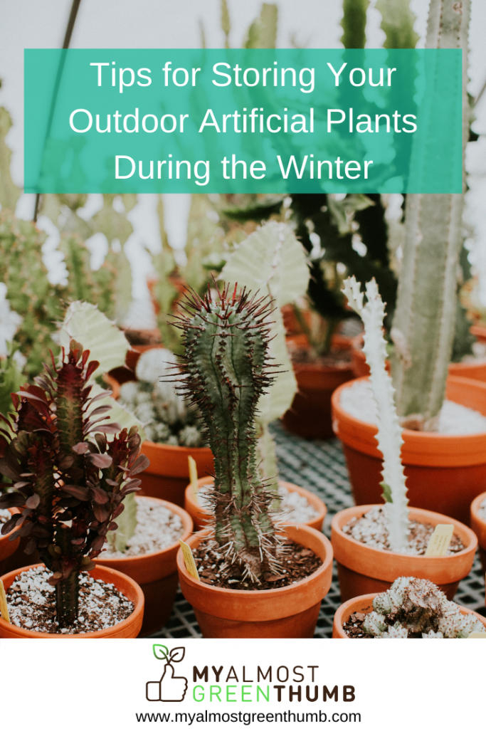 Tips for Storing Your Artificial Plants During the Winter