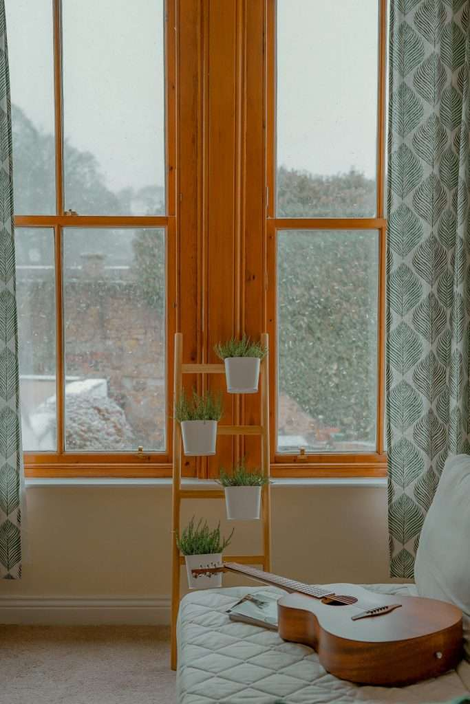 Use artificial plants to brighten up your living space and beat the winter blues