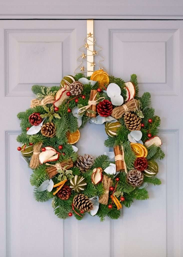 Seasonal artificial wreaths are easy to store while you are not using them with these tips