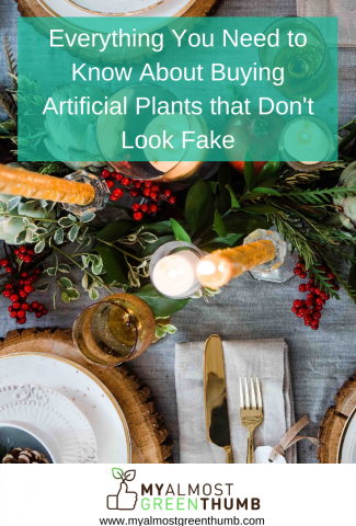 Everything you need to know about buying artificial plants and flowers that don't look fake